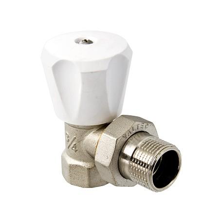 """Клапан VALTEC для радиаторов, ручной угловой 3/4"""" (компактный)"""