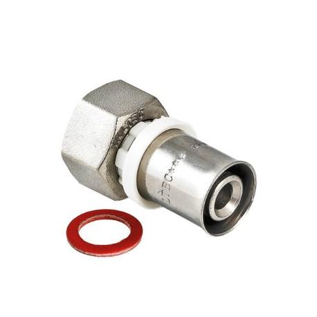 """Пресс-фитинг с накидной гайкой 16 мм х 1/2"""""""