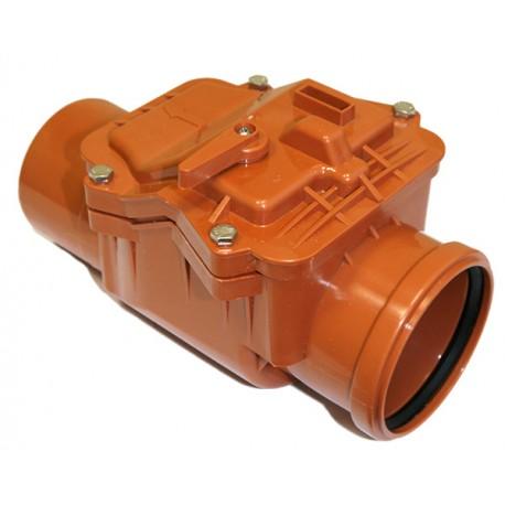 Обратный клапан наружной канализации 110