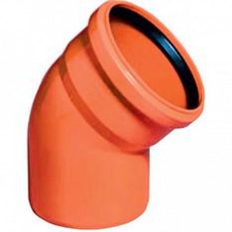 Отвод наружной канализации 45 град-160