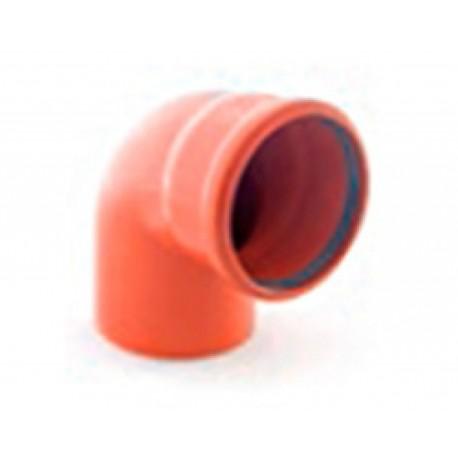 Отвод наружной канализации 90 град-160