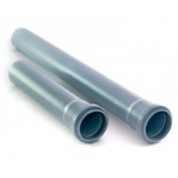 Труба для внутренней канализации Серпласт Ф110 с раструбом L-1 м