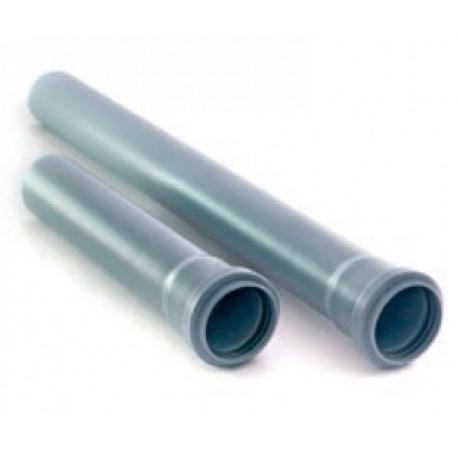 Труба Ф 50 с раструбом L=0.5 м
