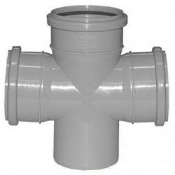 Крестовина для внутренней канализации 90 град 110-110-110