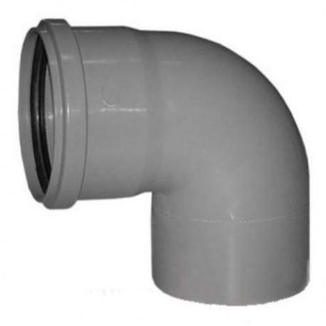 Отвод для внутренней канализации 90 град- 110