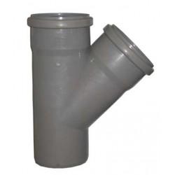 Тройник для внутренней канализации 45° 50-50
