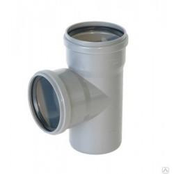 Тройник для внутренней канализации 90° 50-50