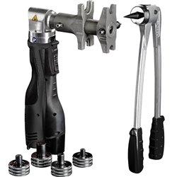 Novopress Набор аксиального инструмента: AAP102, ручной экспандер, тиски и расширители 16-32, чемодан (для системы STOUT PE-Xa