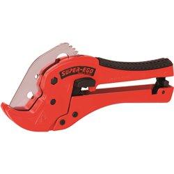 SUPER-EGO Ножницы SEGO 42PL для пластиковых труб до 42 мм/1.5/8&quot