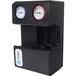 STOUT SDG-0002 Насосная группа с термостатическим смесительным клапаном 3/4&quot без насоса