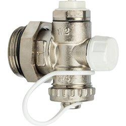 STOUT Регулируемый концевой фитинг с дренажным вентилем, ручной воздухоотводчик 1&quot