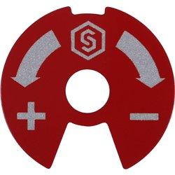 STOUT Синий-красный диск для распределительных коллекторов