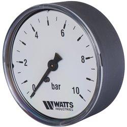 Watts F+R100(MDA) 63/10 Манометр аксиальный нр 1/4&quotх 10 бар (63мм)