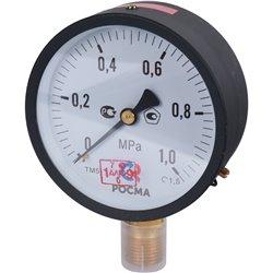 РОСМА ТМ-510Р.00(0-1МРа)G1/2.1,5 * МАНОМЕТР диам.100 мм, тип - ТМсерия 10кт 1,5 IP40 G1/2 0-1МРа.