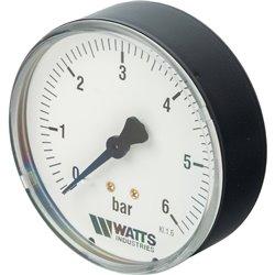 Watts F+R100(MDA) 80/6x1/4&quot Манометр аксиальный 80мм, 0- 6 бар