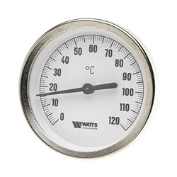 Watts Термометр биметаллический с погружной гильзой F+R801(TSD) 80/50