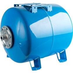 STOUT STW-0003 Расширительный бак, гидроаккумулятор 300 л. горизонтальный (цвет синий)