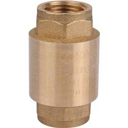 STOUT 1/2&quot Клапан обратный пружинный муфтовый с металлическим седлом
