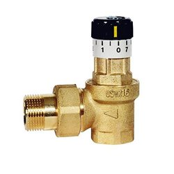 Watts USVR16 Клапан перепуск.угловой (0.06-0.36 бар)