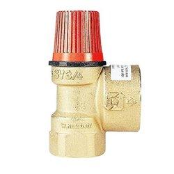 Watts SVH 30 x 1 1/2 Предохранительный клапан для систем отопления (красная крышка) 3 бар