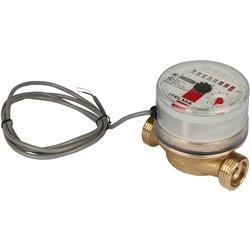 ITELMA Счетчик горячей воды WFW24.D080 Ду15мм, L80мм импульсный выход