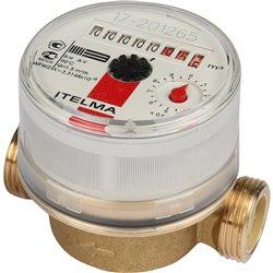ITELMA Счетчик горячей воды WFW20.D080 Ду15мм, L80мм