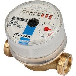 ITELMA Счетчик холодной воды WFK20.D080 Ду15мм, L80мм