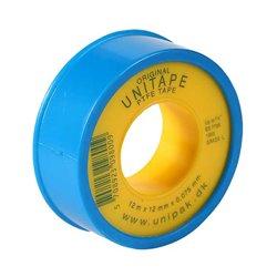 UNIPAK Фум-лента UNITAPE (12м х 12мм х 0.075мм) (син.)