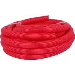 РУВИНИЛ Труба гофр.40мм ПНД (красная) для МПТ (Длина: 15 м)