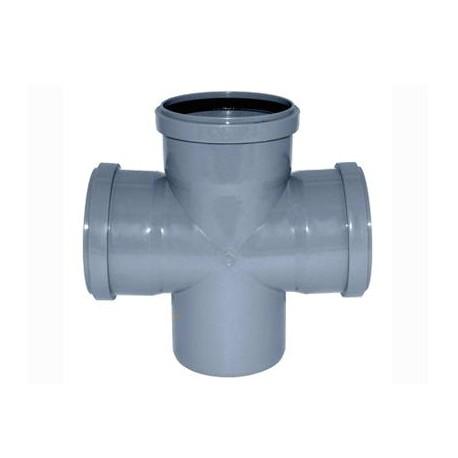 Крестовина для внутренней канализации 90° 110-110-110