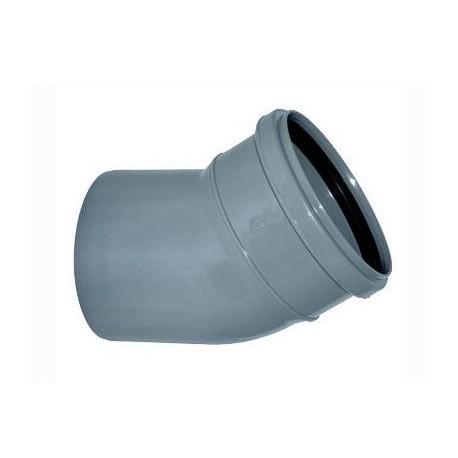 Отвод для внутренней канализации 30* D110