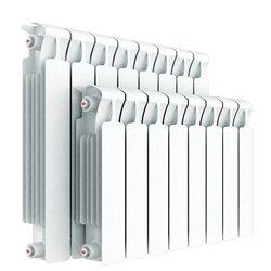 RIFAR MONOLIT VENTIL 500 RIFAR MONOLIT VENTIL 500 MVL 12 секций радиатор биметаллический нижнее левое подключение (белый RAL 901