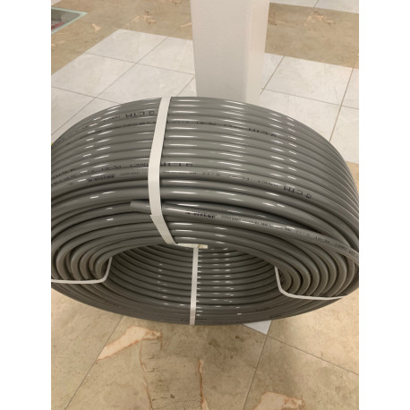 Труба для теплого пола PE-RT тип II 16 х 2,0 мм (серая)