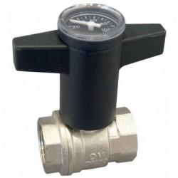 Meibes Балансировочный клапан с предварительной настройкой,измерительными нипелями, запорный с дренажём , PN25 DN20 Kvs 4,4