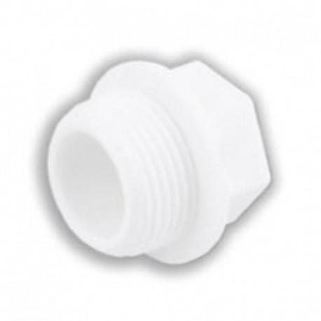 Заглушка полипропиленовая резьбовая 25х3/4 Valfex